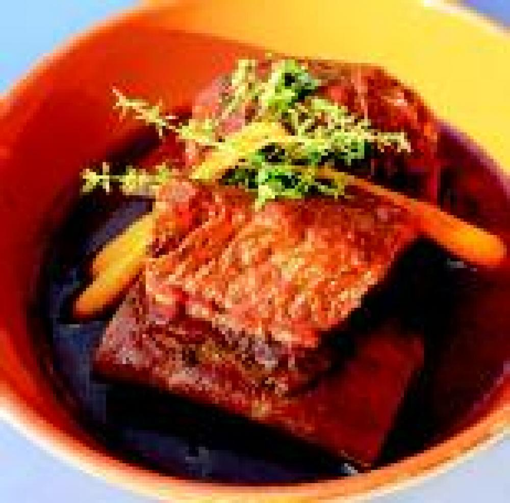 Braised Short Ribs Jalisco-Style with Ancho Chile Broth ( Birria en Estilo Jalisco)