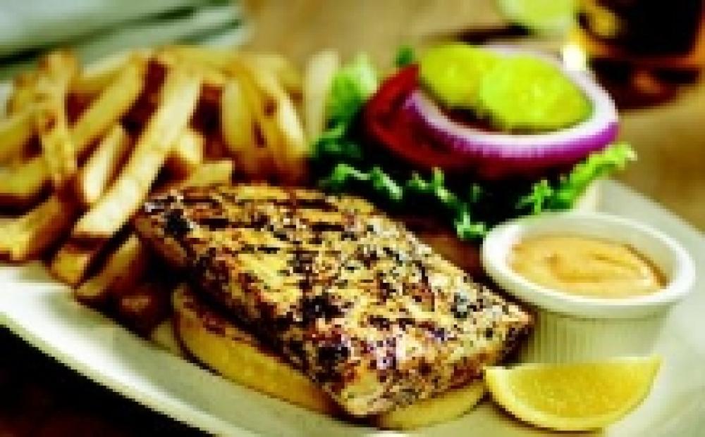 Grilled Mahi-Mahi Sandwich with Cajun Remoulade