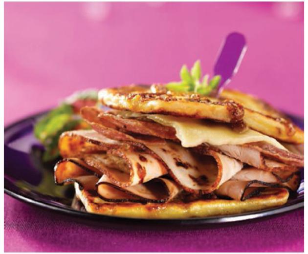 Idaho Potato Monte Cristo Sandwich