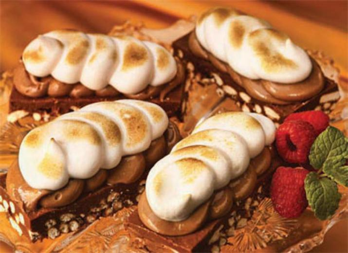 Peanut Butter Mallow Bars