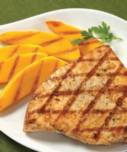 Mango Lime Grilled Swordfish
