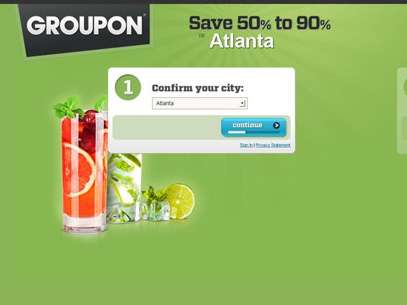 groupon marketing mix
