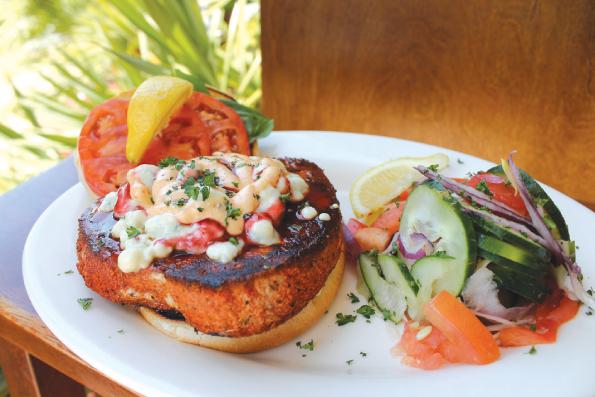 Mr fish seafood restaurant 39 s black and bleu tuna is best for Mr fish seafood restaurant