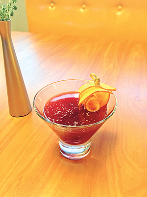 Root Chakra cocktail